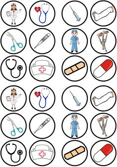 24 Nurses Doctors Theme Precut Edible Cupcake Toppers - wafer card disc cake decorations Stand Up Community Helpers Preschool, Edible Cupcake Toppers, Paper Cupcake, Wafer Paper, Bottle Cap Images, Nurses Week, Dramatic Play, Diy Birthday, Birthday Gifts