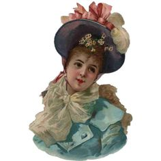 Scrap Victorian Girl — (600x600)