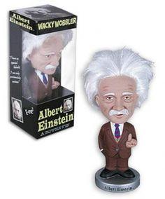 Bobble Head Wacky Wobbler Albert Einstein - Funko