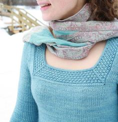 Knitting pattern for Khloe Sweater