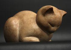 Modern cat sculpture (Artist: Unknown)