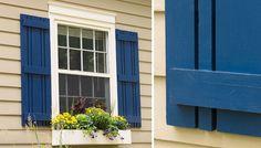 Simple DIY Window Shutters