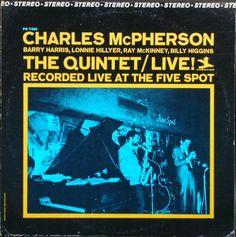 Charles McPherson - The Quintet/Live!