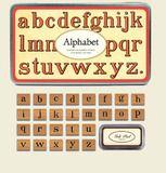 Stempelset Alphabet - Postpapier enzo