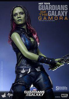 Les Gardiens de la Galaxie figurine Movie Masterpiece 1/6 Gamora Hot Toys