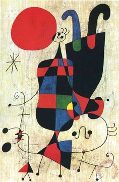 Thrill your walls now with a stunning Joan Miro print from the world's largest art gallery. Choose from thousands of Joan Miro artworks with the option to print on canvas, acrylic, wood or museum quality paper. Joan Miro Paintings, Spanish Painters, Kandinsky, Summer Art, Oeuvre D'art, Art Lessons, Art History, Modern Art, Fine Art