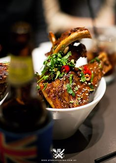 Cafe Ish (All you can eat ribs) - Surry Hills, Sydney (A Table For Two)
