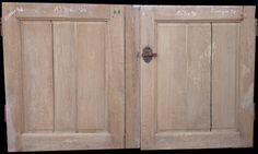 Porte 19 ème chêne 153 x 90
