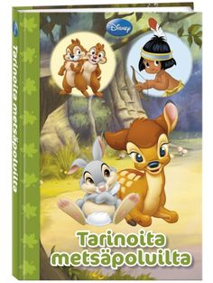 Tarinoita metsäpoluilta -satukokoelman kolmessa iloisessa kertomuksessa juoksennellaan niityillä ja metsissä, kahlaillaan puroissa ja ratkaistaan arvoituksia. Metsä on täynnä sadun ja seikkailun tuntua, ja se on myös monien hauskojen leikkien näyttämö! Disney, Youtube, Youtubers, Disney Art