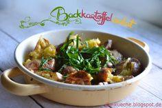 S-Küche: Backkartoffelsalat mit erstem Bärlauch - #Tierfrei...