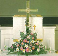 Wedding Church Altar Decorations