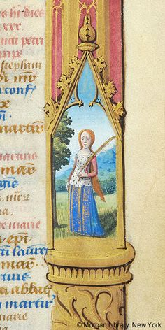Book of Hours, MS fol. - Images from Medieval and Renaissance Manuscripts - The Morgan Library & Museum Medieval Books, Medieval Manuscript, Medieval Art, Illuminated Manuscript, Virgo Art, Zodiac Signs Virgo, Morgan Library, Personal History, Book Of Hours