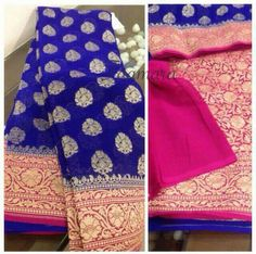 this all can be made in any color as per the client desire.whats app for price 9591571039 Chiffon Saree, Blue Silk Saree, Tussar Silk Saree, Kanchipuram Saree, Saree Dress, Cotton Saree, Fancy Sarees Party Wear, Buy Designer Sarees Online, Indian Wedding Wear