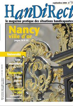 Couverture du numéro 98 : Nancy, ville d'or.