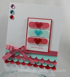 Patterned Occasions Get Well Card