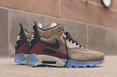 NIKE AIR MAX 90 SNEAKERBOOT (DARK DUNE/BARKROOT BROWN) | Sneaker Freaker
