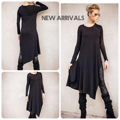 0229c440ba14b Black Asymmetric Top   Asymmetric tunic   Women Black Top   Women Tunic   Plus  Size top   Plus Size Tunic   Plus Size Clothing    35309
