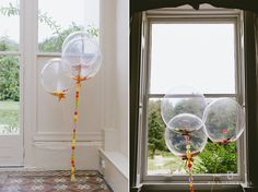 Balloons at Morden Hall Wedding Venue in London
