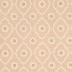 Soundess | SOUN004 in Pink | Schumacher Fabric by Veere Grenney