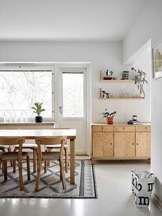 Laura Seppäsen koti on sisustettu mustavalkoisella väripaletilla