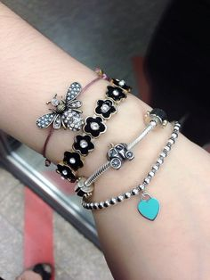 Armcandy. Armswag. Tiffany&co. Pandora charm bracelet.