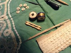 material for Battenberg - Julia Brock Needle Lace, Bobbin Lace, Point Lace, Tape, Bobbin Lacemaking, Band, Ice