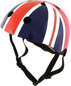 From 16.59 Kiddimoto Kids Union Jack Helmet - Multicoloured 48-52cm