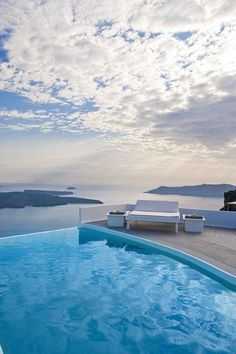 I have had a swim or two in this cliff faced luxury pool at Chromata. It's a magical place u never want to leave.