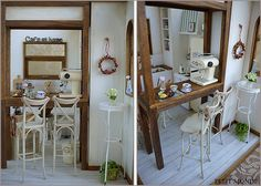 1:12 scale // Cafe at home
