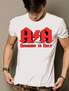 Highway to Help  AA Recovery Shirt by SockMaakies on Etsy