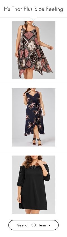 """It's That Plus Size Feeling"" by rosegal-official ❤ liked on Polyvore featuring dresses, plussize, rosegal, floral chiffon dress, plus size chiffon dresses, plus size dresses, womens plus dresses, handkerchief hem dress, flower pattern dress and floral ruffle dress"