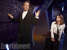 'Doctor Who': Peter Capaldi and Jenna Coleman in EW Portraits | Photo 1 of 5 | EW.com