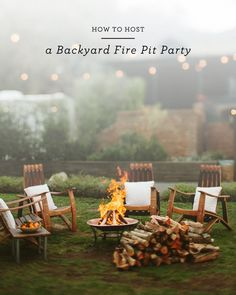 How to Host a Backyard Fire Pit Party