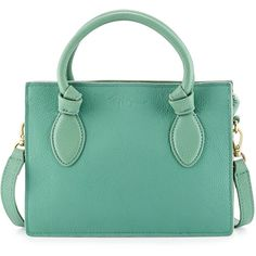 Foley + Corinna Gabby Knot Leather Crossbody Bag ($75) ❤ liked on Polyvore featuring bags, handbags, shoulder bags, purses, blue, green leather purse, green leather shoulder bag, crossbody purse, leather handbags and leather purse