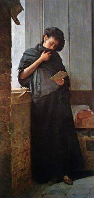 ALMEIDA JÚNIOR - Saudades Óleo sobre tela - 195 x 98 - 1899 Pinacoteca do Estado de São Paulo