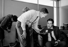 Mad Men behind the scenes. Photography by James Minchin III