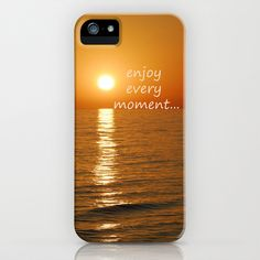 Enjoy every moment... iPhone & iPod Case by Guido Montañés - $35.00
