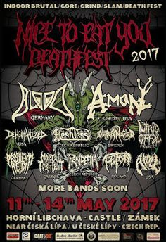 Long Live The Loud 666: NICE TOEAT YOU DEATHFEST 2017 WITH:BLOOD,DEHUMANIZ...