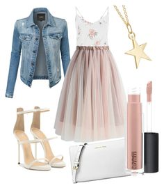 Senza titolo #25 by marzia88 on Polyvore featuring polyvore, fashion, style, LE3NO, Chicwish, Giuseppe Zanotti, Michael Kors, Catbird, MAC Cosmetics and clothing
