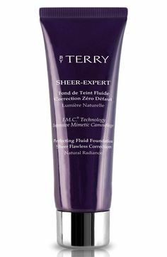 BY TERRY Sheer-Expert Perfecting Fluid Foundation Beauty & Cosmetics - Bloomingdale's Best Foundation For Oily Skin, Foundation Online, Natural Foundation, Perfect Foundation, Givenchy Beauty, Best Face Products, Beauty Products, Free Makeup, Camouflage