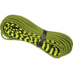 Maxim Pinnacle 9.5.  This rope stands up to wear better than any we've used.