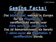 Das letzte Spiel, welches in Europa für die Playstation 2 veröffentlicht wurde, war FIFA 2014 im Jahr 2013. Das ist bemerkenswert, da bereits 7 Jahre zuvor die Playstation 3 veröffentlicht wurde.