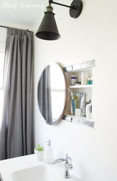 What is your dream bathroom mirror? Are you lucky enough to already own the bathroom mirror of your dreams? The following pictures will definitely inspire you! #BathroomRemodel #BathroomMirrorIdeas #BathroomVanity #BathroomDecor #BathroomMakeoverIdeas