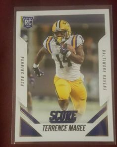 2015 Score Terrance magee #393 rookie Baltimore Ravens in Sports Mem, Cards & Fan Shop, Cards, Football   eBay