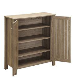 4-Tier 20 Pair Shoe Storage Cabinet