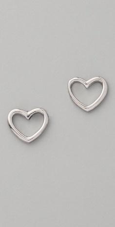 Marc by Marc Jacobs  Love Edge Stud Earrings, silver