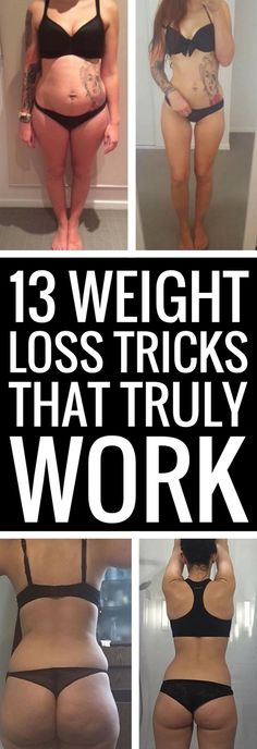 13 safe but highly effective tips and tricks to lose weight fast.
