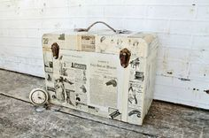 Knick of Time - Upcycled Sewing Machine Case