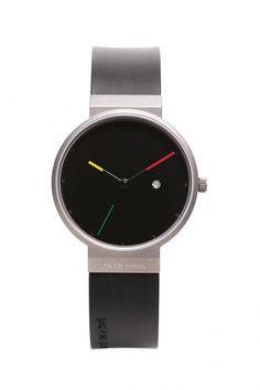 640 - Jacob Jensen Titanium heren horloge