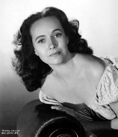 Teresa Wright, 1940's (1918-2005). American actress with a natural and lovely talent who was discovered by Samuel Goldwyn. She distinguished herself early on in high-caliber, Oscar-worthy form -- the only performer ever to be nominated for Oscars for her first 3 films. She earned Hollywood stardom on her own unglamorized terms. After performing in school plays and graduating from High School, she decided to pursue acting professionally. (IMDb)